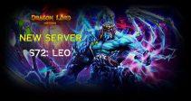 New server «S72: Leo» is already open!