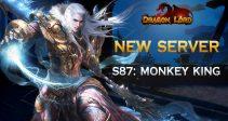 New server «S87: Monkey King» is already open!