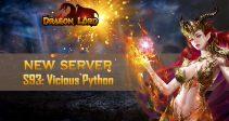 New server «S93: Vicious Python» is already open!