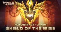New Artifact+ Powerful DEF Charm – Shield of the Wise