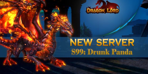 New server «S99: Drunk Panda» is already open!