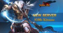 New server «S100: Kitsune» is already open!