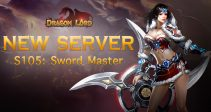 New server «S105: Sword Master» is already open!