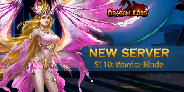 New server S110: Warrior Blade is already open!