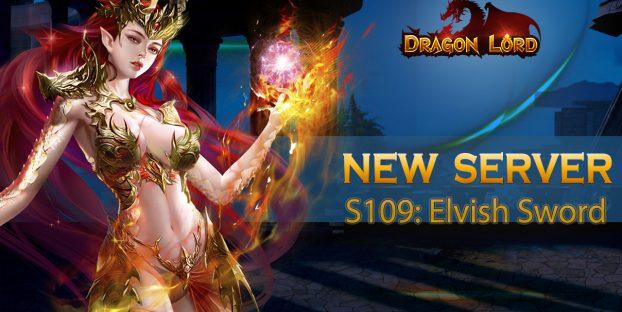 New server S109: Elvish Sword is already open!