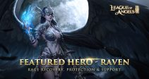Featured Hero – Raven, rage recovery, protection and support hero