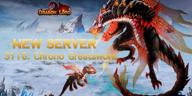 New server S116: Chrono Greatsword is already open!