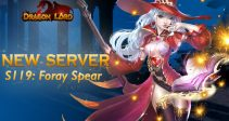 New server S119: Foray Spear is already open!