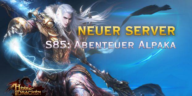 Server Eröffnung S85: Abenteuer Alpaka